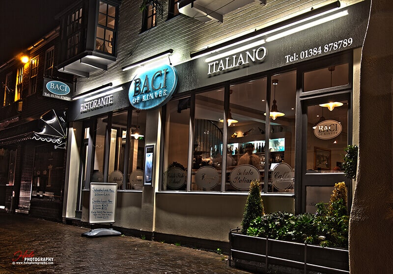 Italian Restaurant Kinver Stourbridge