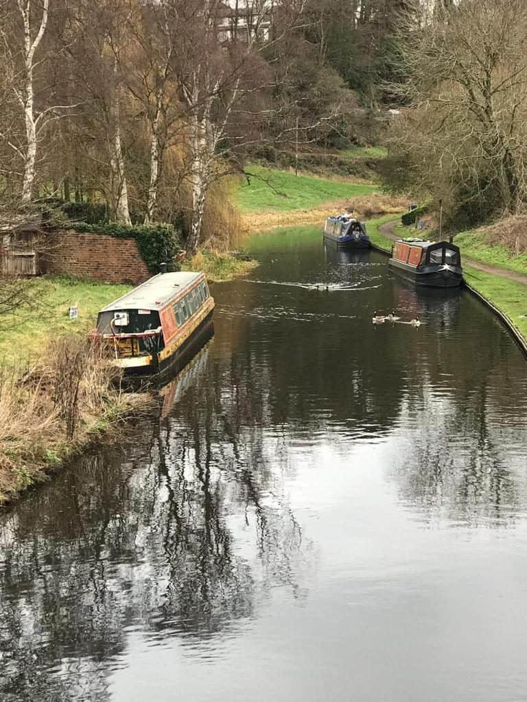 kinver canal walks restaurants